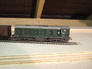 Bachmann loco in well-used but clean condition.