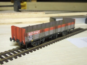 BR Airbraked open wagon from the Speedlink era.