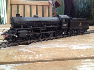 Hornby  B1 portrayed in clean mid-1950s condition.
